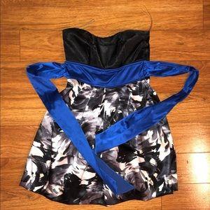 Ruby Rox Juniors Black/White Dress Size 5